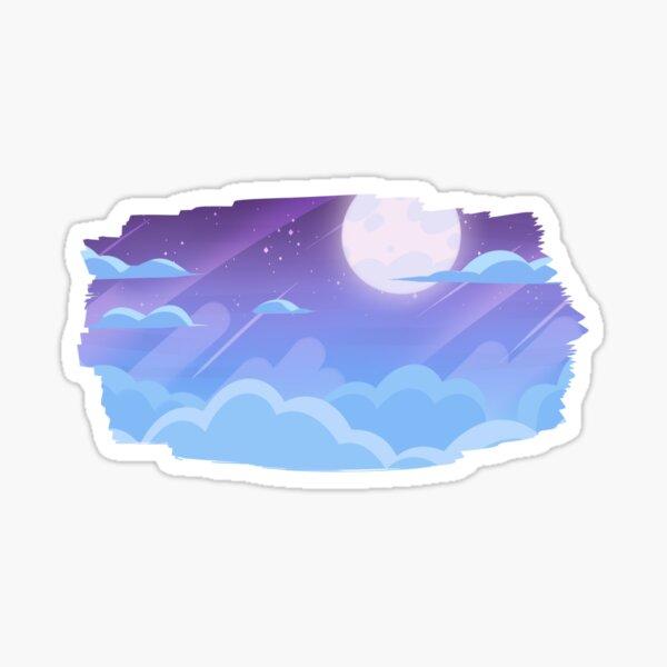 Midnight Diamond Sky Sticker