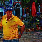 Vendor On The Square by crimsontideguy