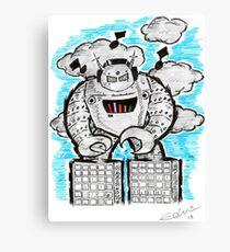 Robotech & Deck Canvas Print