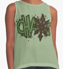Chaos is Disgusting Contrast Tank