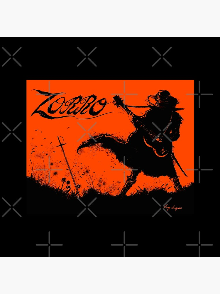 Zorro Guitarra by DougSQ
