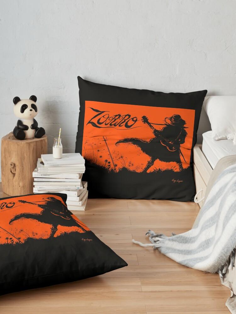 Alternate view of Zorro Guitarra Floor Pillow