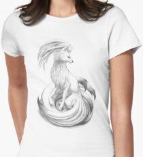 Ninetales - original illustration Women's Fitted T-Shirt