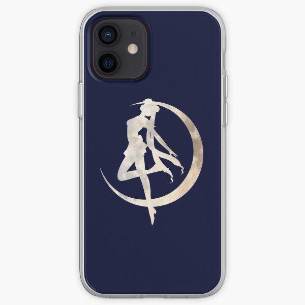 Sailor Moon Silhouette iPhone Soft Case