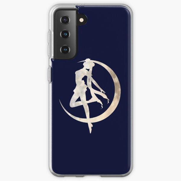 Sailor Moon Silhouette Samsung Galaxy Soft Case