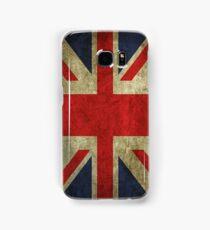 Antique Faded Union Jack UK British Flag Samsung Galaxy Case/Skin