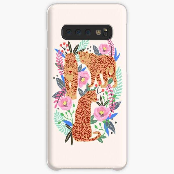Leopard Idea, leopard print, animal print, flower print Samsung Galaxy Snap Case