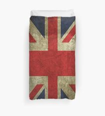 Antique Faded Union Jack UK British Flag Bettbezug