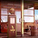 50's gas robot by belusart