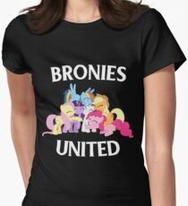 BRONIES UNITED - LIMITED EDITION Womens Fitted T-Shirt