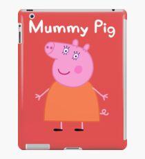 Mumie Schwein iPad-Hülle & Klebefolie