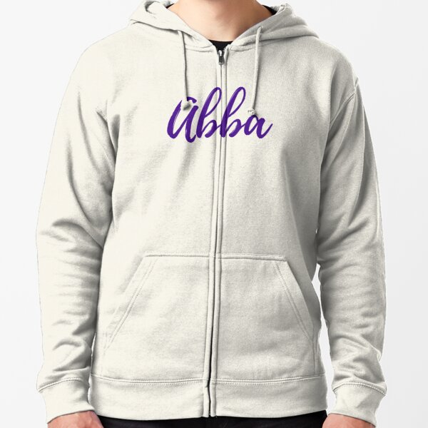 Abba Father Zipped Hoodie