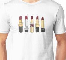 Marsala Lipstick Collection Unisex T-Shirt