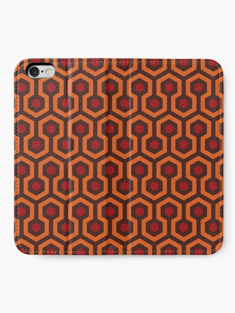 Alternate view of The Shining Carpet Texture iPhone Wallet