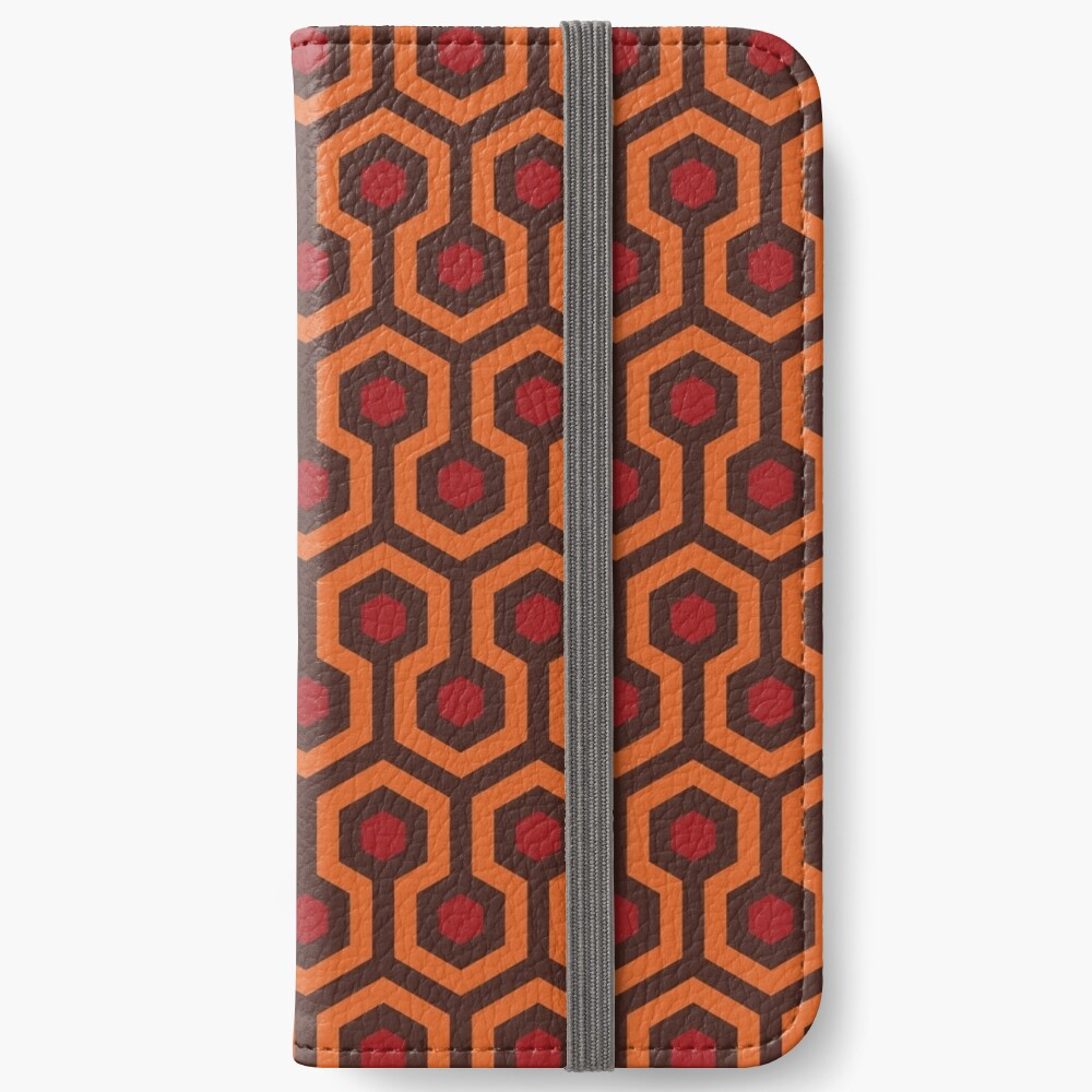 The Shining Carpet Texture iPhone Wallet