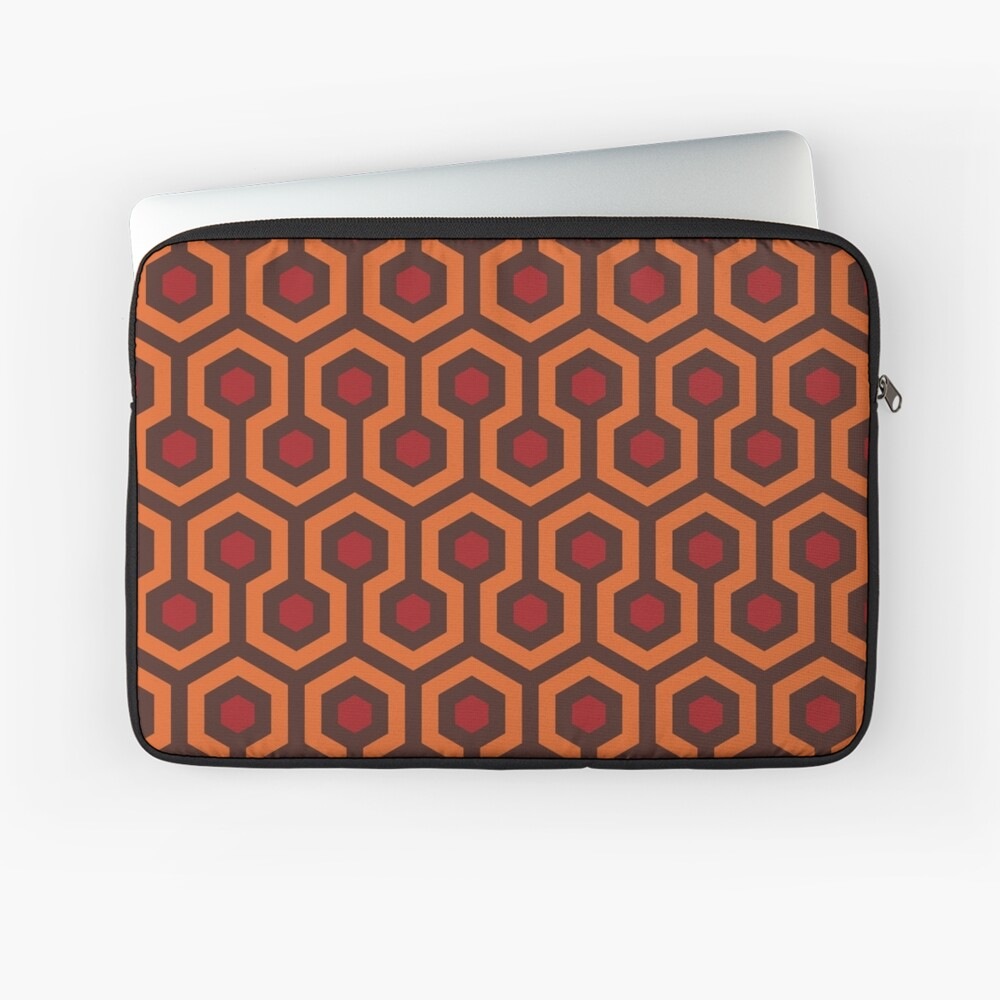 The Shining Carpet Texture Laptop Sleeve