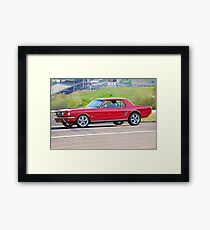 1965 Ford Mustang Coupe Framed Print
