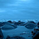 Low Tide Blue by Dave Harnetty