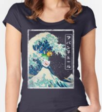 Adventure Tide! Women's Fitted Scoop T-Shirt