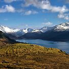 Loch Duich and the Snowy Peaks of Kintail, Scotland by jacqi