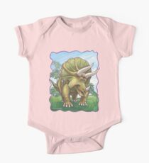 Animal Parade Triceratops One Piece - Short Sleeve