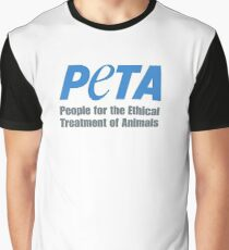 PETA Logo Graphic T-Shirt