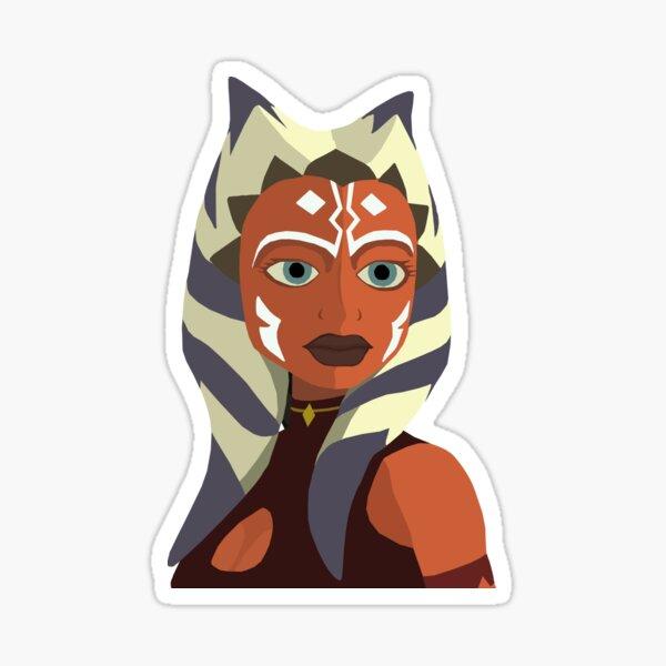 Ahsoka Tano vector art Sticker