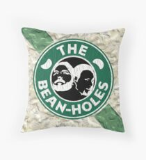 The Beanholes Throw Pillow