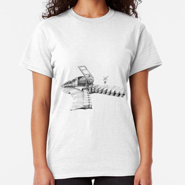 zipper railway Classic T-Shirt
