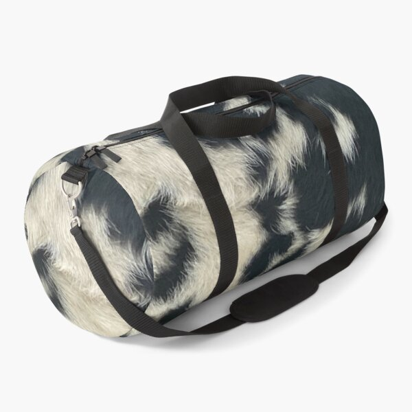 COW LOVERS SPECKLE PARK HIDE PRINT  Duffle Bag