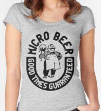 #beer Women's Fitted Scoop T-Shirt