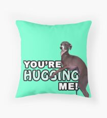 Youre Hugging Me! - Kermit, Jenna Marbles Throw Pillow