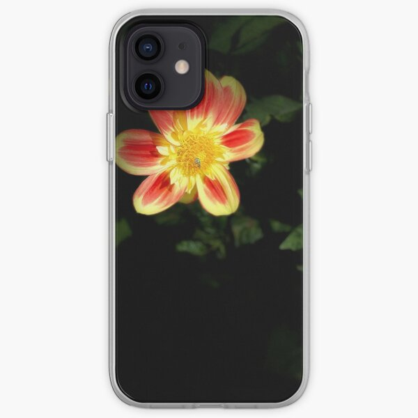 Dahlia with Bee iPhone Soft Case