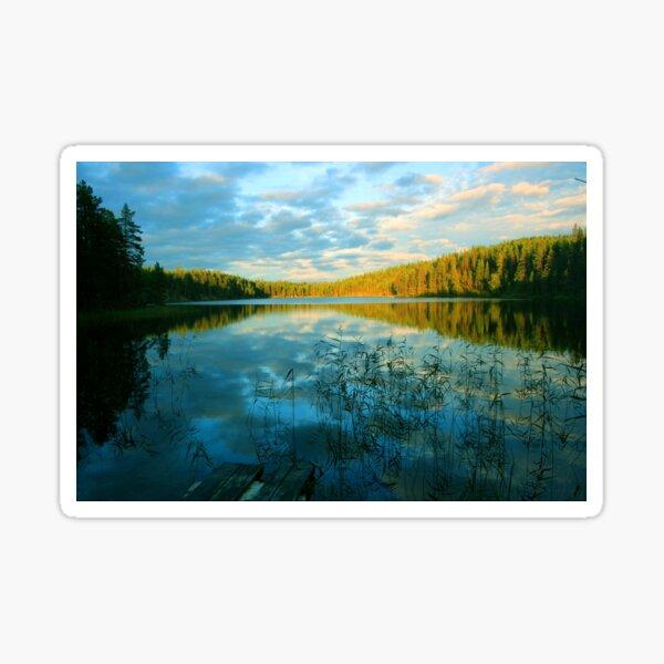 Midsummer in Finland Sticker