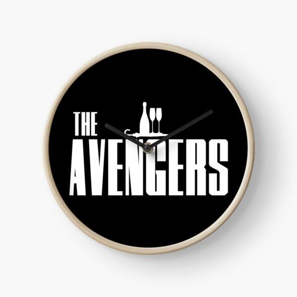 The Avengers Logo Clock