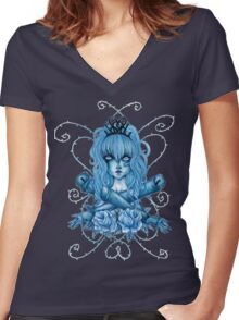 My Little Dolly Women's Fitted V-Neck T-Shirt
