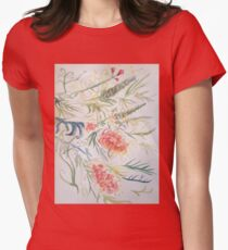 Grevillea by Liz H Lovell Womens Fitted T-Shirt