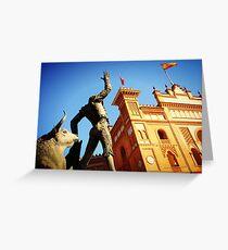 Tarjeta de felicitación Plaza de Toros de Las Ventas