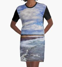 Coastal Daydreams Graphic T-Shirt Dress