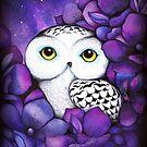 Snowy Owl by Annya Kai
