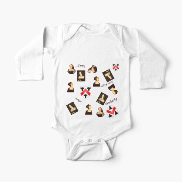 Boleyn Long Sleeve Baby One-Piece