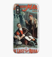 Performing Arts Posters The singing comedian Andrew Mack in the The last of the Rohans by Ramsay Morris 1114 iPhone Case/Skin