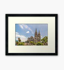 Metropolitan Cathedral Fortaleza Brazil Framed Print