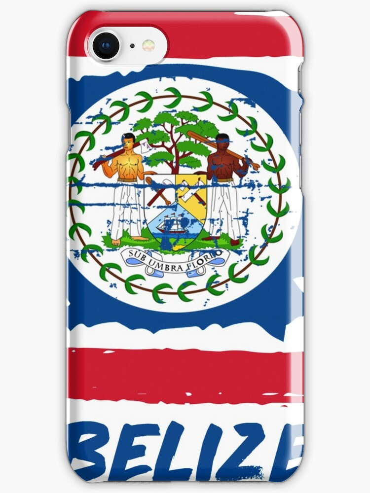 Belizean flag design iphone cases skins by besteez for Belizean style house plans