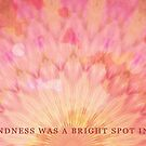 Your Kindness was a Bright Spot in My Day by Tiffany Reed