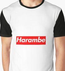 Harambe Supreme Box Logo Best Graphic T-Shirt