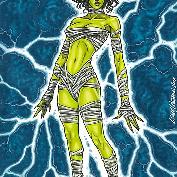 Sexy Frankenstein's Monster - Electrify the Night by larryweber