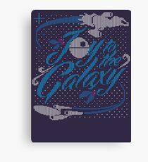 Joy to the Galaxy 2 Canvas Print
