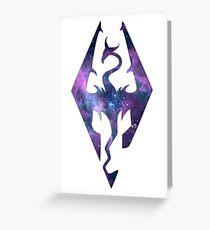~Galaxy Skyrim Greeting Card