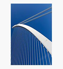Calatrava's bridge  Valencia Photographic Print